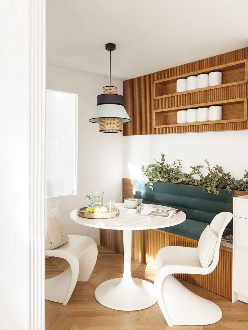 Тёплая элегантность: эстетичный интерьер дизайнера в Мадриде || 01