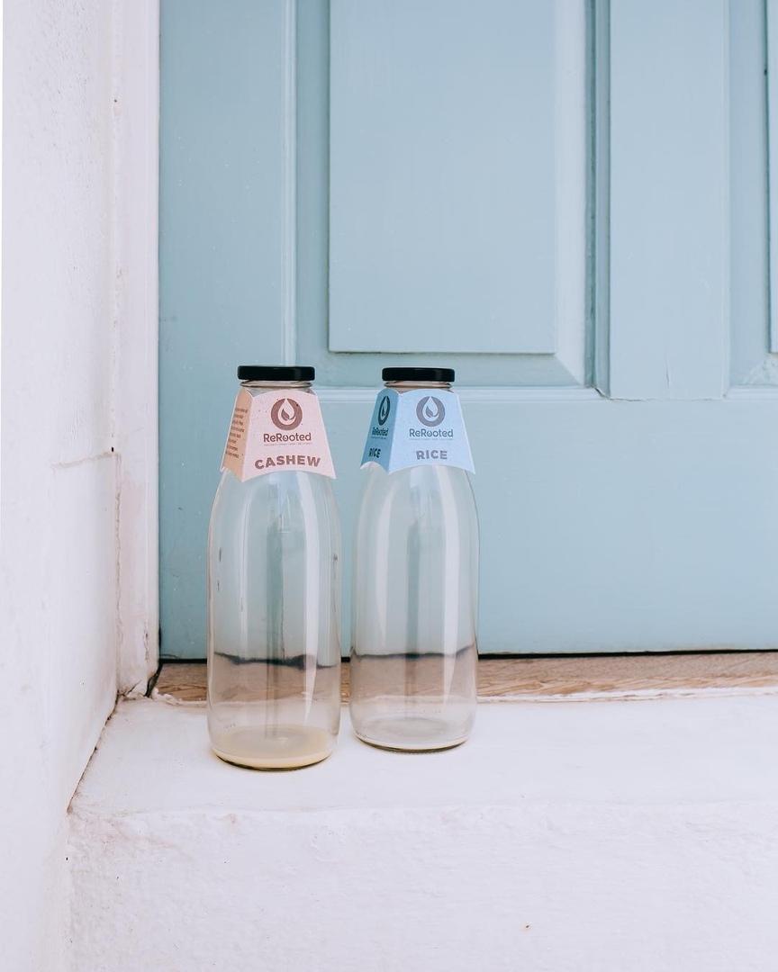 В Великобритании появится веганская zero waste доставка молока, изображение №1