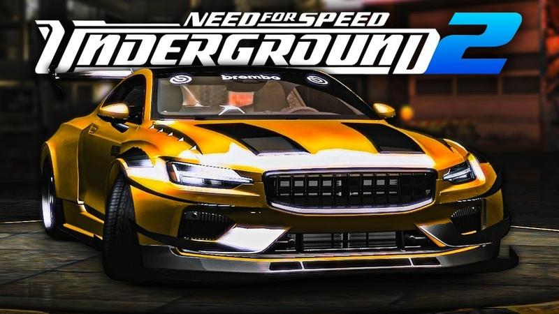NFS Underground 2 2020 Polestar 1 Tuning Gameplay 1440p60