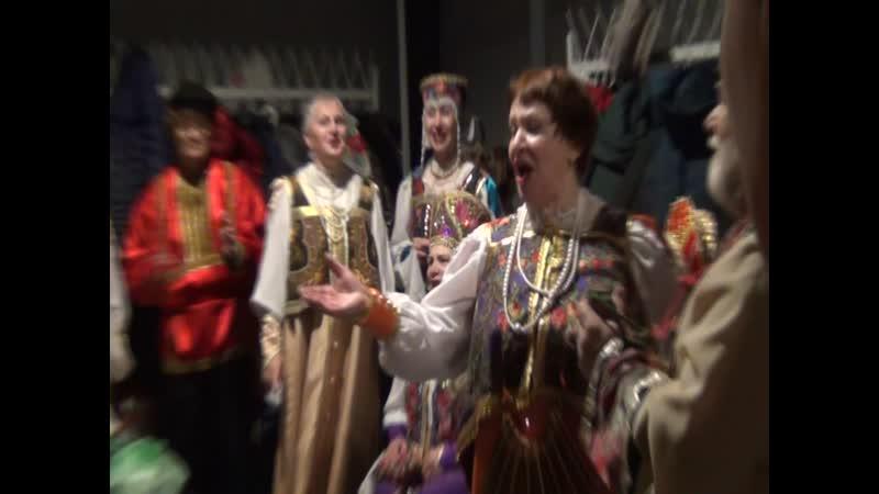 репетиция артистов в Ледовом дворце с участием моей свекрови