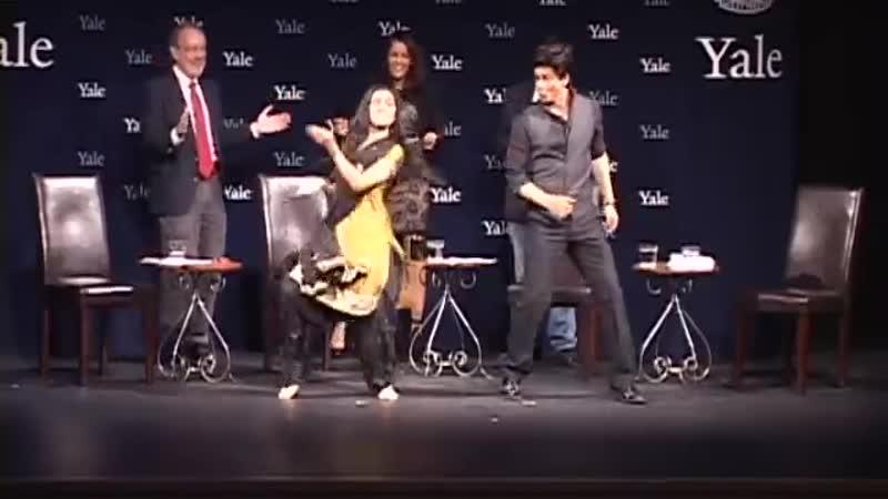 Chammak Challo Dance Shah Rukh Khan at Yale University as Chubb Fellow Official Video