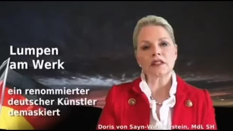 Doris von Sayn-Wittgenstein über die korrupte und kriminelle BRiD Junta