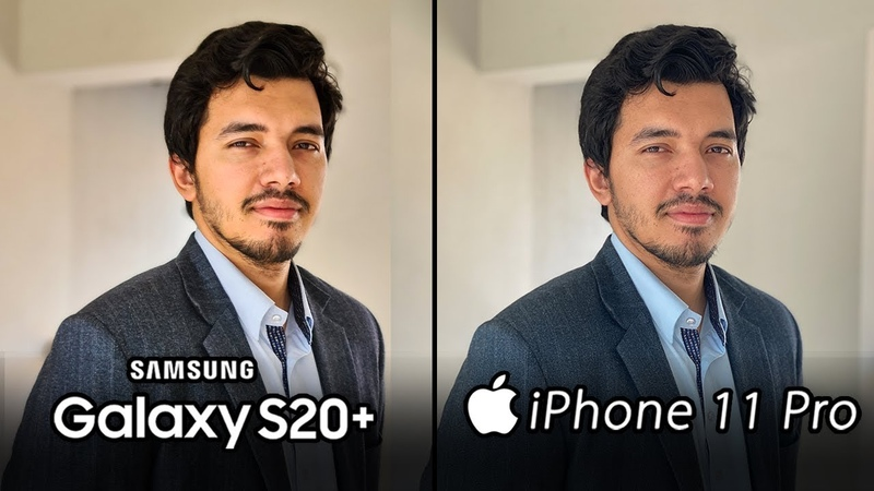 Samsung Galaxy S20 Plus vs iPhone 11 Pro Max Camera Test Comparison