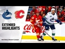 Vancouver Canucks vs Calgary Flames   Oct.05, 2019   Game Highlights   NHL 2018/19   Обзор матча
