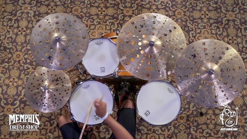 Zildjian 21 K Custom Special Dry Trash Crash Cymbal - 1677g (K1427-1061317JJJ)