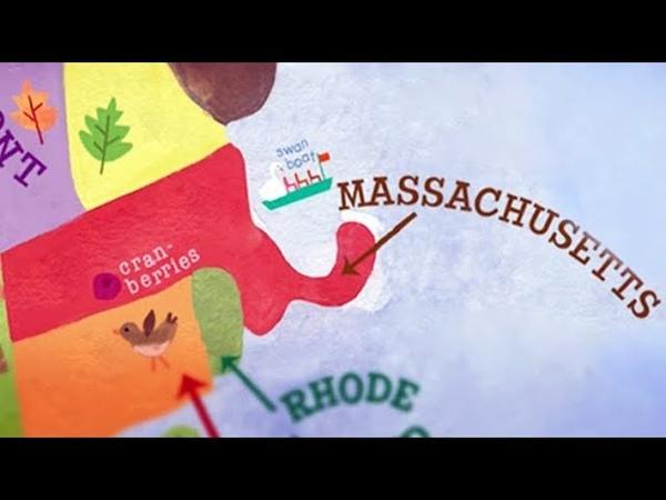 Бостон Массачусетс Америка Большое путешествие №4
