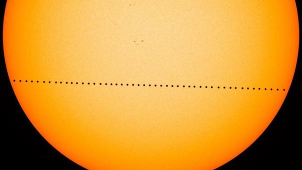 Проход Меркурия по диску Солнца