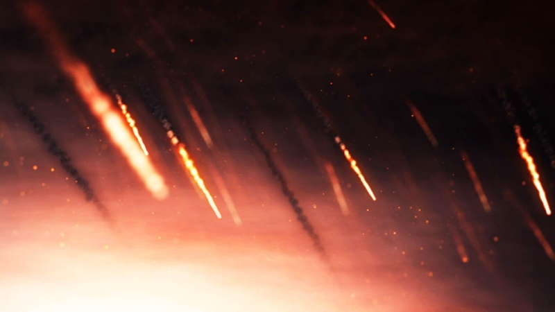 Meteor Storm - After Effects Tutorial ( Trapcode Particular )