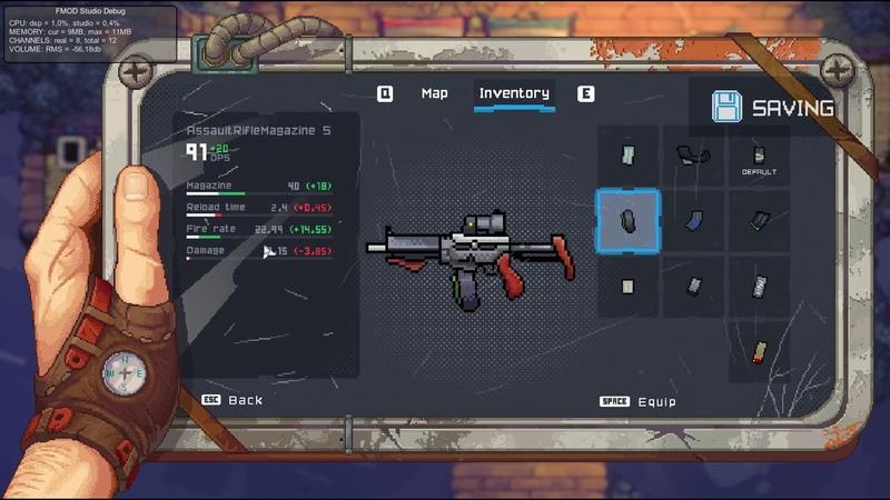 Black Skylands Origins AR machinegun setup