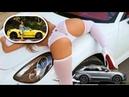 PORSCHE 718 BOXSTER GTS 2019 or PORSCHE MACAN TURBO 2019 (Review eyes Blonde)