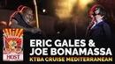 Two of the best guitarists in the world, Joe Bonamassa Eric Gales, trade licks onstage