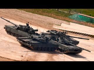 Танковый вальс на полигоне Алабино