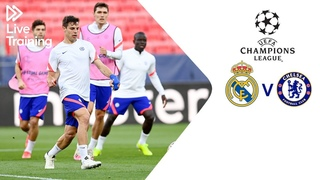 Chelsea Live Training   Real Madrid v Chelsea   UEFA Champions League