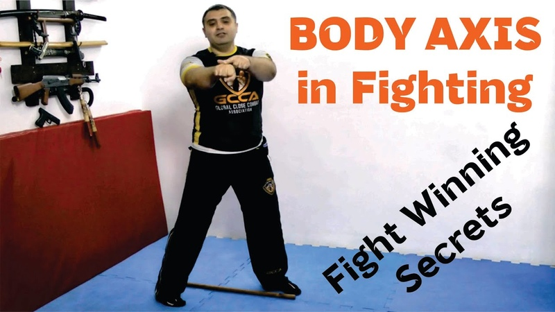 MMA / Jeet Kune Do (JKD) / Krav Maga - BODY AXIS and WEIGHT Distribution in any kind of FIGHTING
