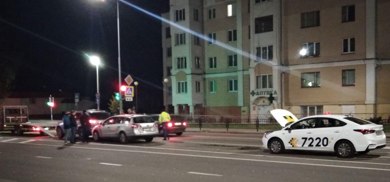 Пинск: в результате ДТП пострадал пассажир автомобиля