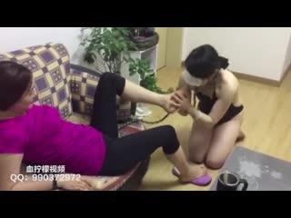 Femdom Cuckold - Chinese Femdom -, Feet Slave