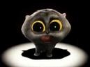 Поющий кот Scatman пи па па пара поп. Singing cat Scatman ski-ba-bop-ba-dop-bop.