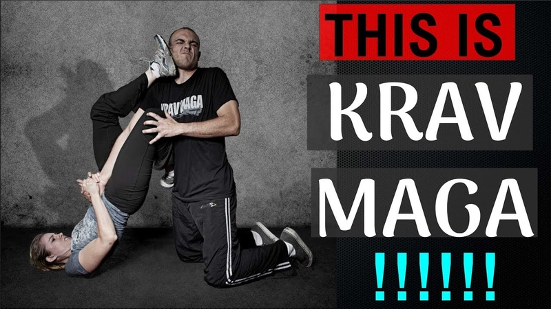 THIS IS KRAV MAGA! Combative MMA for the Street Self Defense this is krav maga