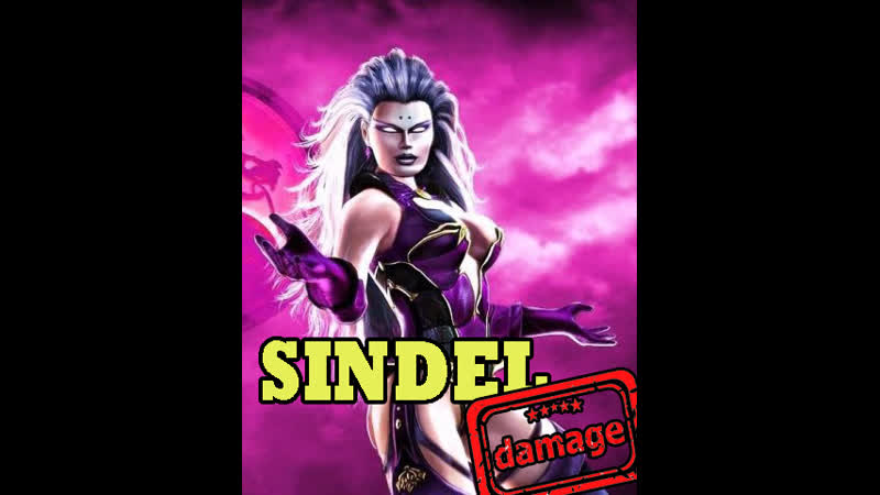 SINDEL DAMAGE Mortal Kombat 3 Ultimate