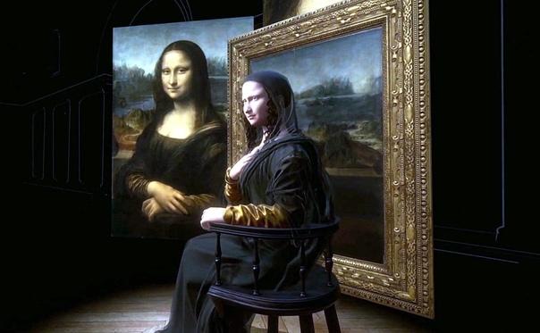 Порция эстетики  Мона Лиза в 3D.