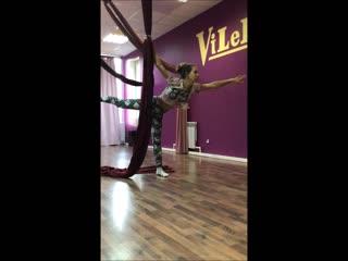 our dance on the air silks