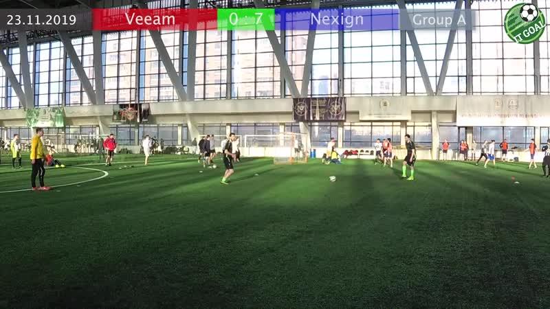 Veeam vs Nexign / 0 : 7 / Group A / ITGoal