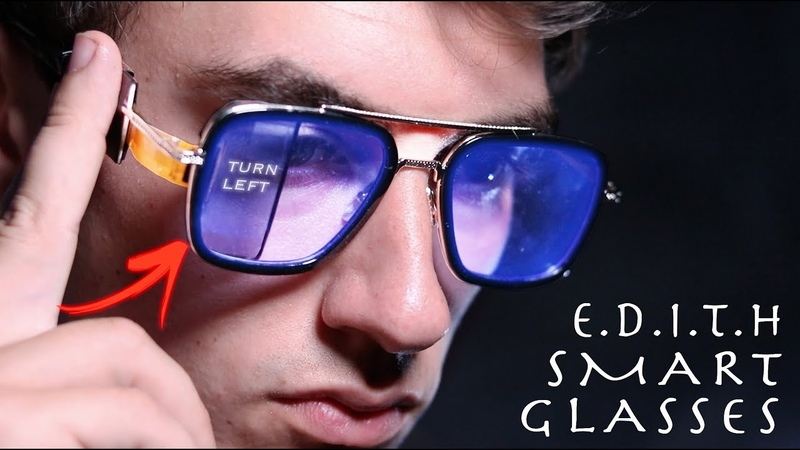 DIY Working E.D.I.T.H SMART GLASSES! - Spider-Man Far From Home (Building Your Ideas 3)