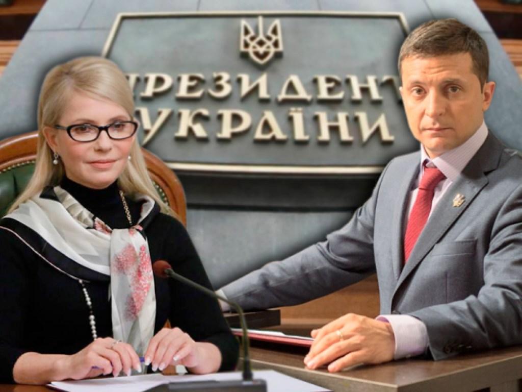 Тимошенко: Зеленским должна заняться СБУ, он тряпка и марионетка
