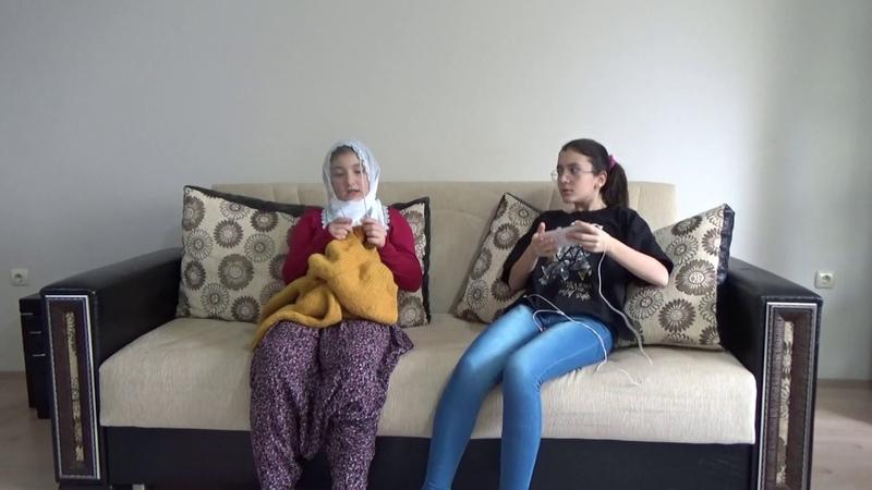Kızım sana kazak öreyim mi Komik nene -torun skeci parodisi