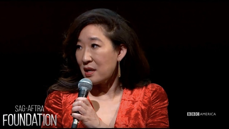 Sandra Oh Jodie Comer at SAG AFTRA Foundation Killing Eve Sun April 8 @ 8 7c on BBC America