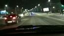 Авария с опрокидыванием скорой помощи на Ленинградской площади (09.01.2020)