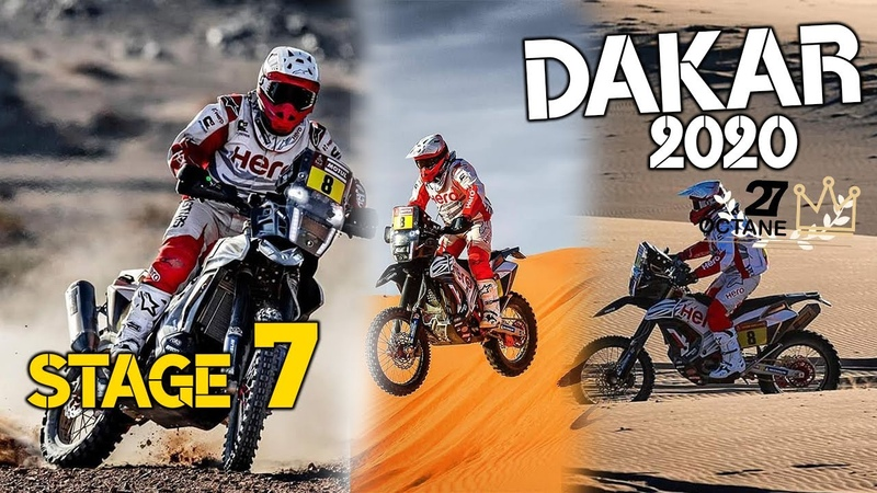 Dakar 2020 Stage 7 Riyadh Wadi Al Dawasir Rest in peace Paulo Gonçalves