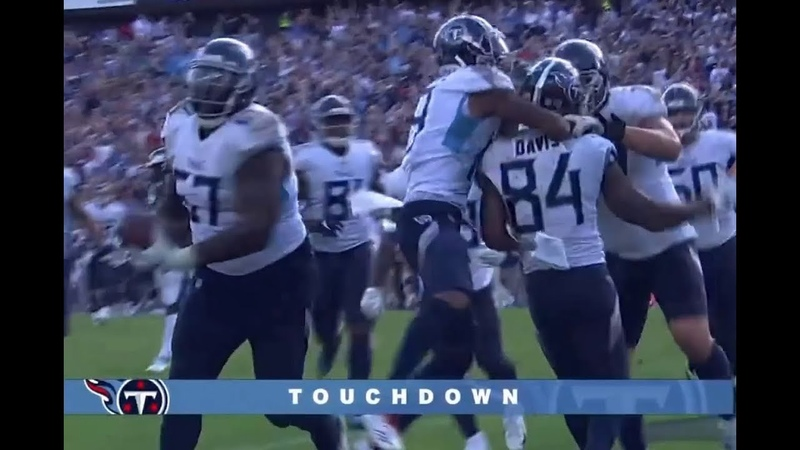 Tennessee Titans Game Winning TD by Corey Davis vs the Eagles