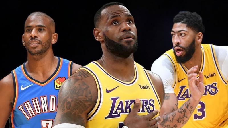Los Angeles Lakers vs OKC Thunder - Full Game Highlights | November 19, 2019-20 NBA Season