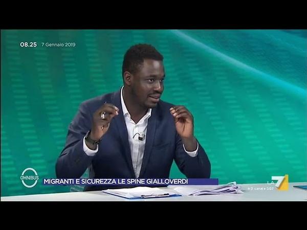 Immigrazione Paolo Diop FdI 'Abbiamo sempre accolto ora non c'è lavoro Non si può