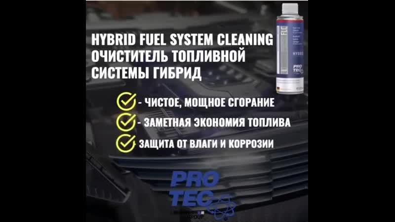Очиститель форсунок PRO TEC