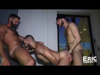 Three Guys Engage in a Hot and Lusty Bang Session | Gay Porn