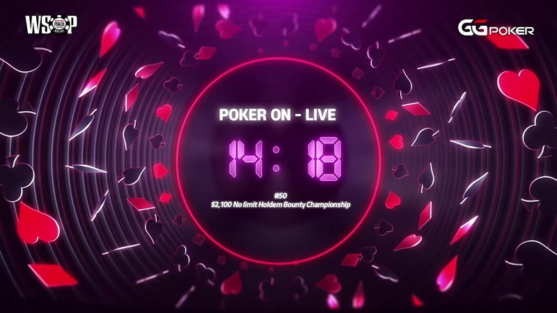 Poker On Live l WSOP Online 50 $2 100 No Limit Holdem Bounty Championship l With Artosis Calvin