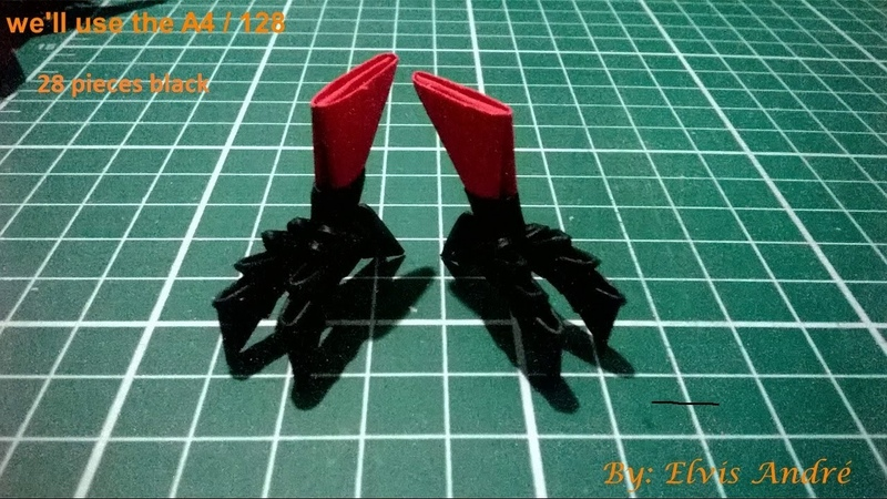 How to make the claws of the bird and the stand