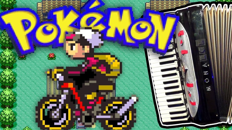 Littleroot Town Pokémon Ruby and Sapphire accordion cover