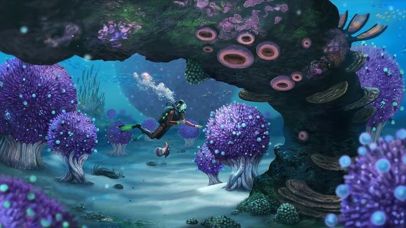 Что мы Нашли в этом Гигантском Обломке Подводный Грибной Биом Sabnautica 5