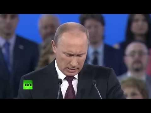 Путин Право народа требовать и добиваться лучших возможностей для жизни