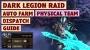 King's Raid Dark Legion Raid Physical Team Auto Farm and Dispatch Battle Guide