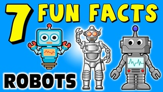 7 FUN FACTS ABOUT ROBOTS! ROBOT FACTS FOR KIDS! Learning Colors! Funny! Cyborg! Elektro! Sock Puppet