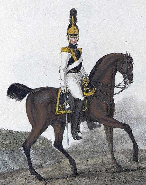Офицер кирасирского полка