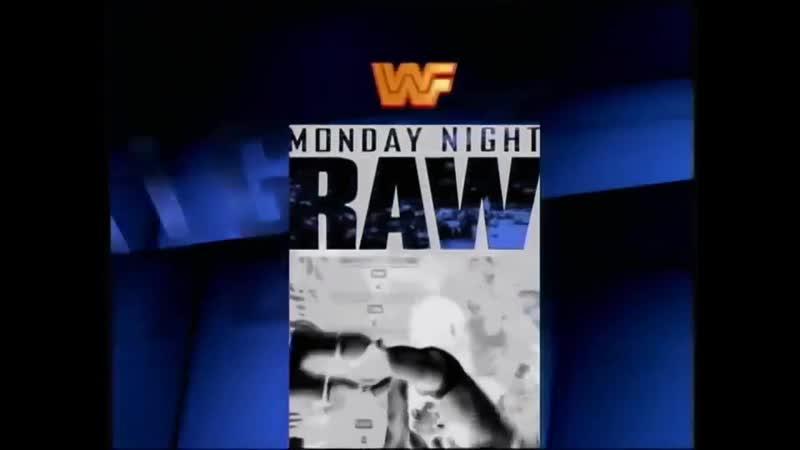 WWF RAW 1993 1995