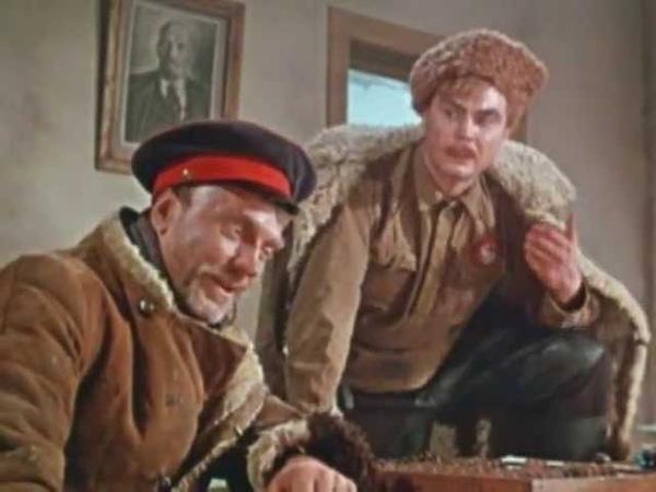 Фрагмент из фильма Поднятая целина (Ленфильм, 1959)