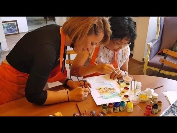 турецкие изразцы и керамика в Стамбуле Уроки традиционной турецкой росписи керамики и изразцов (Cini). Мастер-классы в Стамбуле Частные и групповые занятия доступны в течение всего года! Традиционные турецкие изразцы и керамика