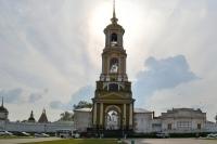 Суздаль: Ризоположенский монастырь и вид на город с Преподобенской колокольни