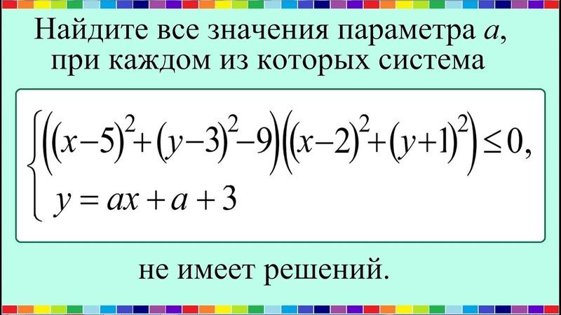 Задание 18 ЕГЭ по математике профиль 47